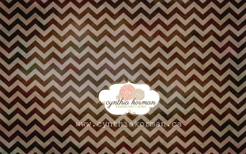 Chevron Grungy Chocolate-H