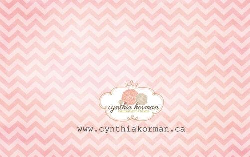 Chevron Grungy Pink-H