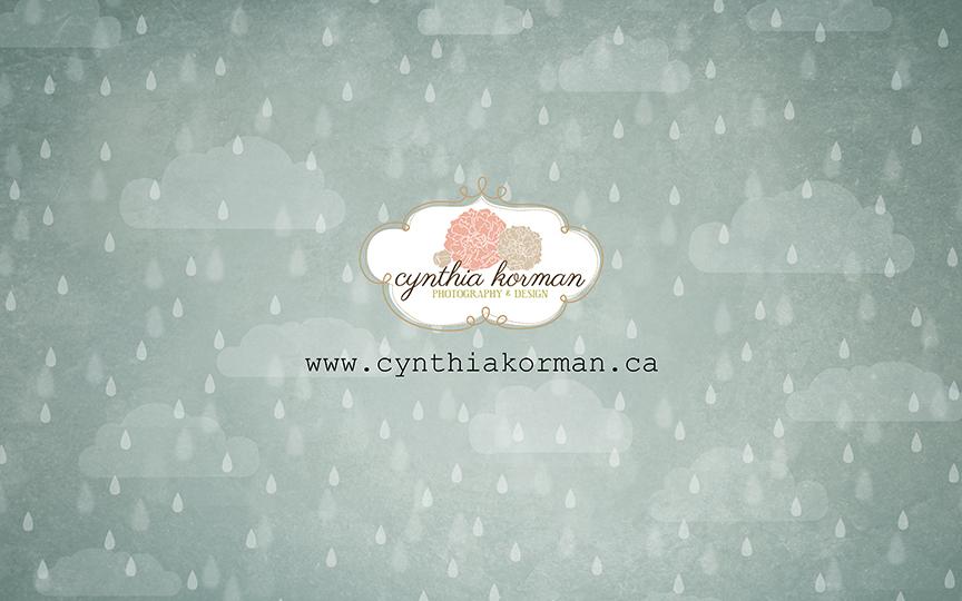 Rain Grunge Blue-H