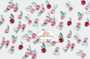 Paper Flowers Pink