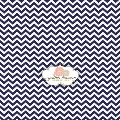 Chevron Purple Navy