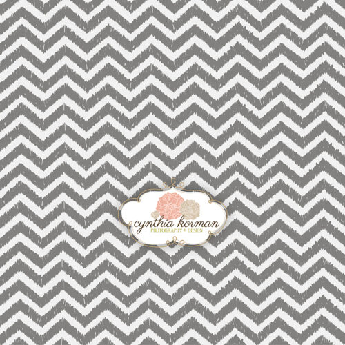 Chevron Grungy Grey
