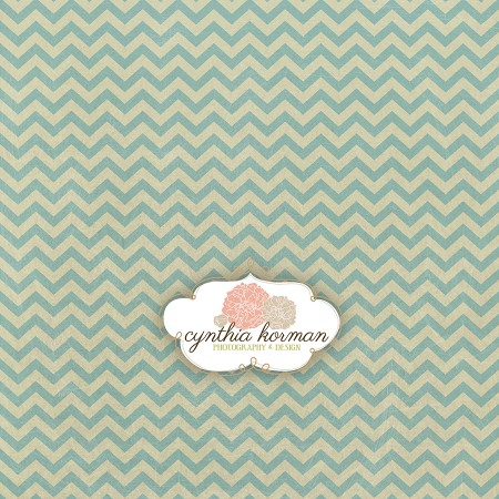 Chevron Spring Green