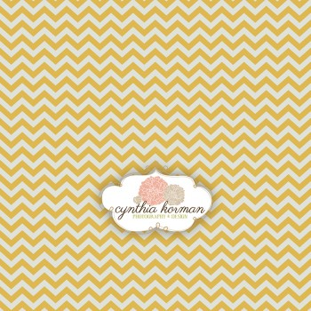 Chevron Yellow Summer
