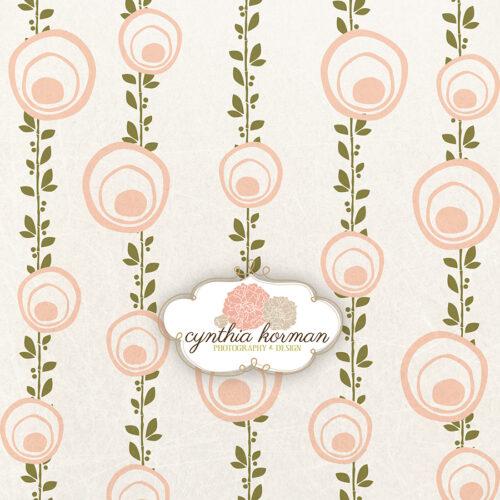 Late Summer Peach Vines