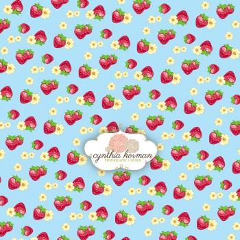 Strawberry Blue Love