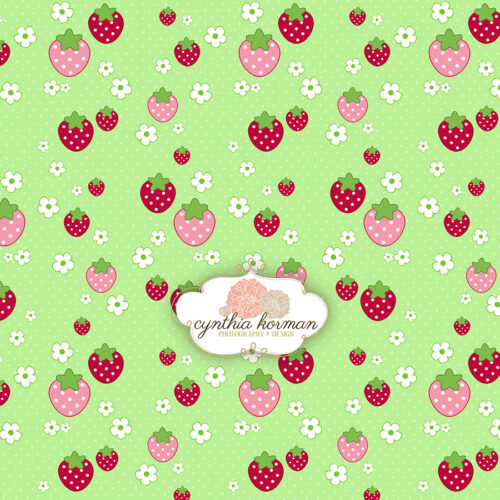 Strawberry Green Love
