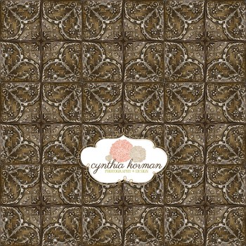 Elegant  Brown Tin Tiles