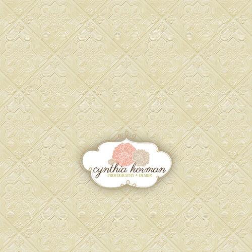 Elegant  Cream Tin Tiles