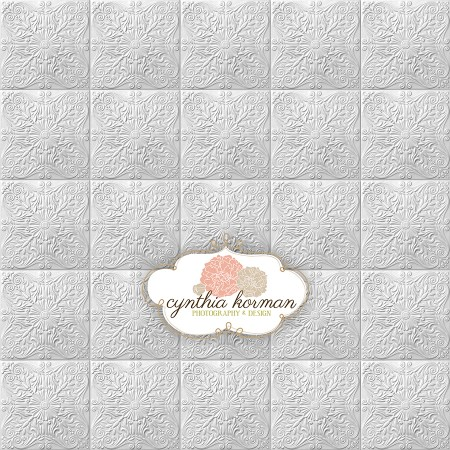 Elegant Grey Tin Tiles