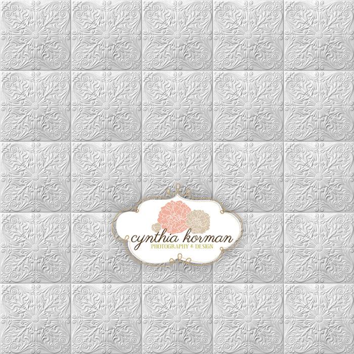 Elegant Grey Tin Tiles