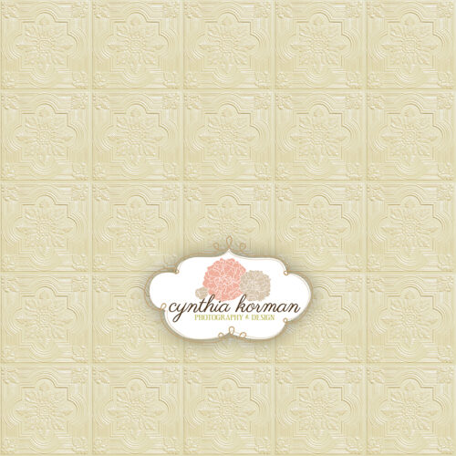 Fancy Cream Tin Tiles