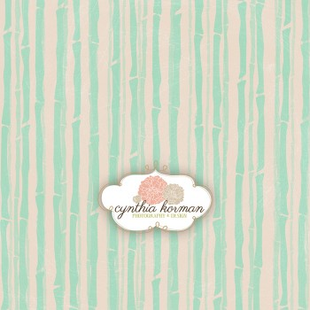 Under The Sea Green Stripes