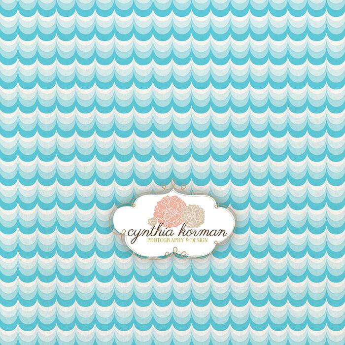 Blue Teal Wave