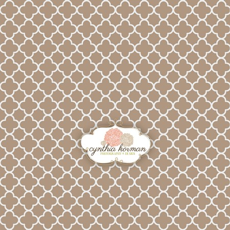 Decorative Abstract Brown