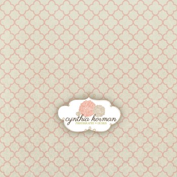 Vintage Abstract Pink