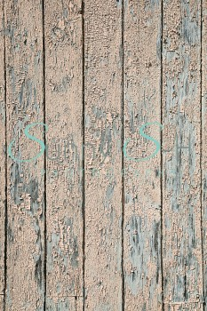 Peeling Paint on Wood Boards