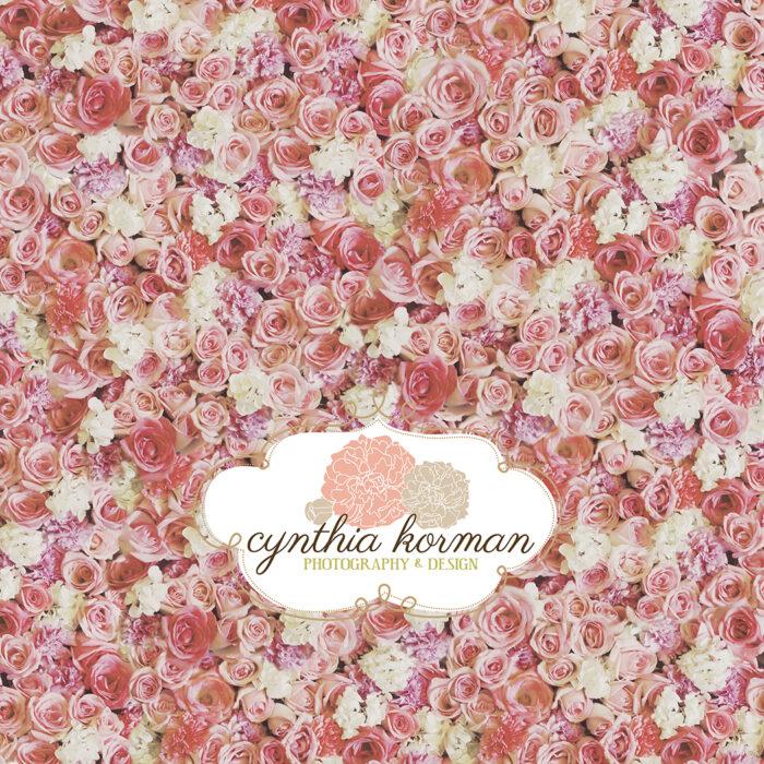 Flowers Vintage Pink