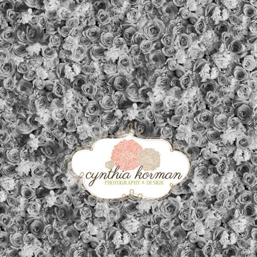 Flowers Black & White