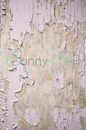 Painted Peeling Wall
