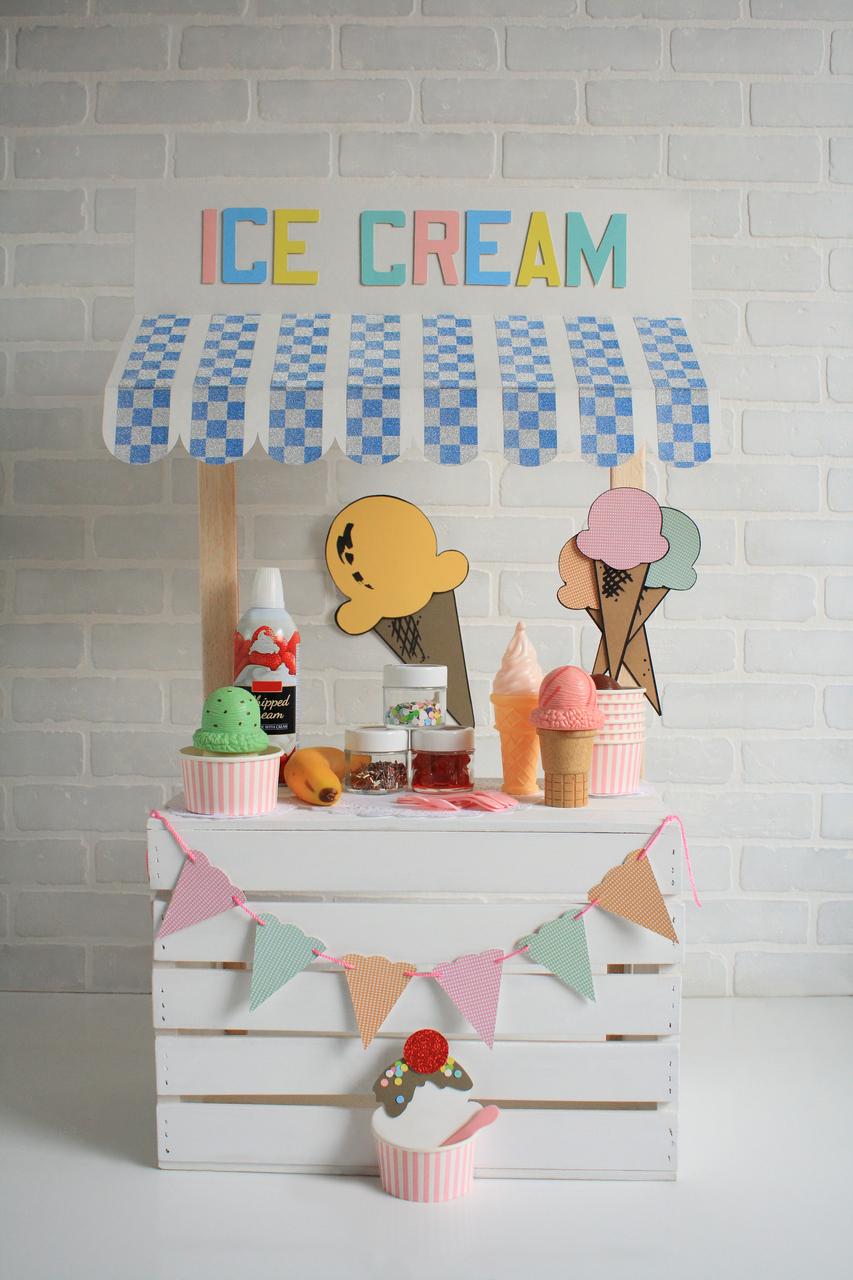 Ice Cream Stand Backdrops Canada