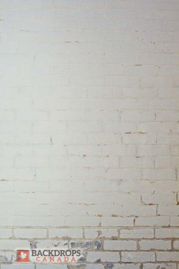 White Brick Photography Backdrop