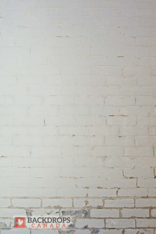 White Brick Photography Backdrop
