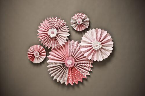 Summer Pink Pinwheels