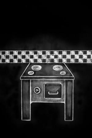 Checkered Kitchen