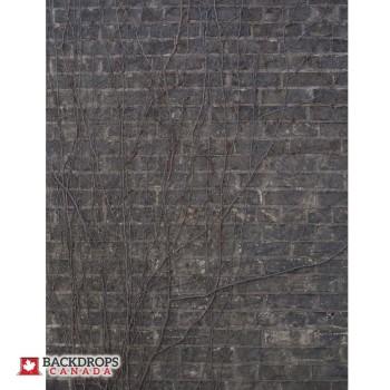 Grey Brick with Vines