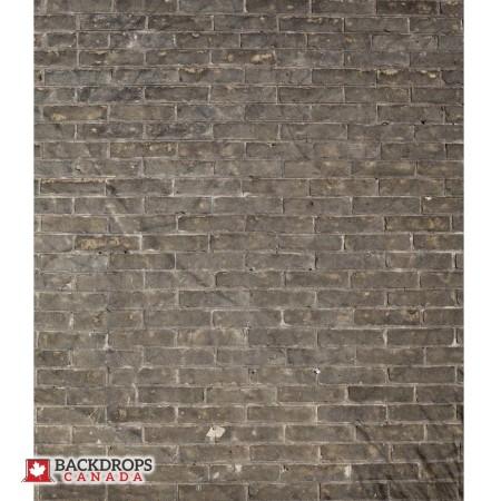 Grungy Brown Brick Photography Backdrop