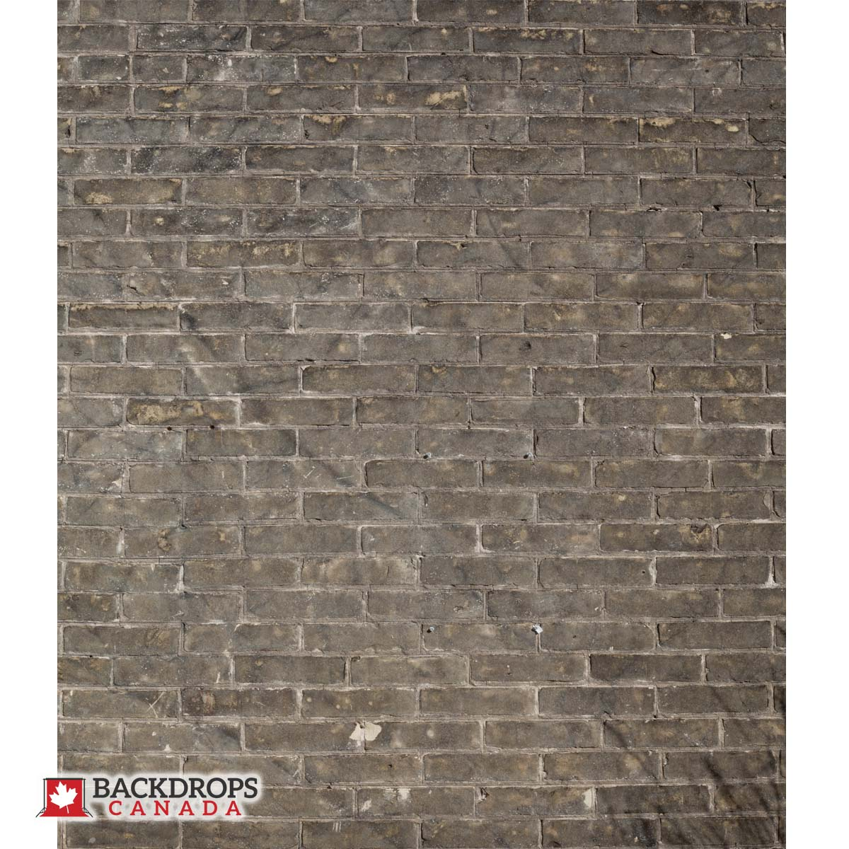 Grungy Brown Brick Photography Backdrop