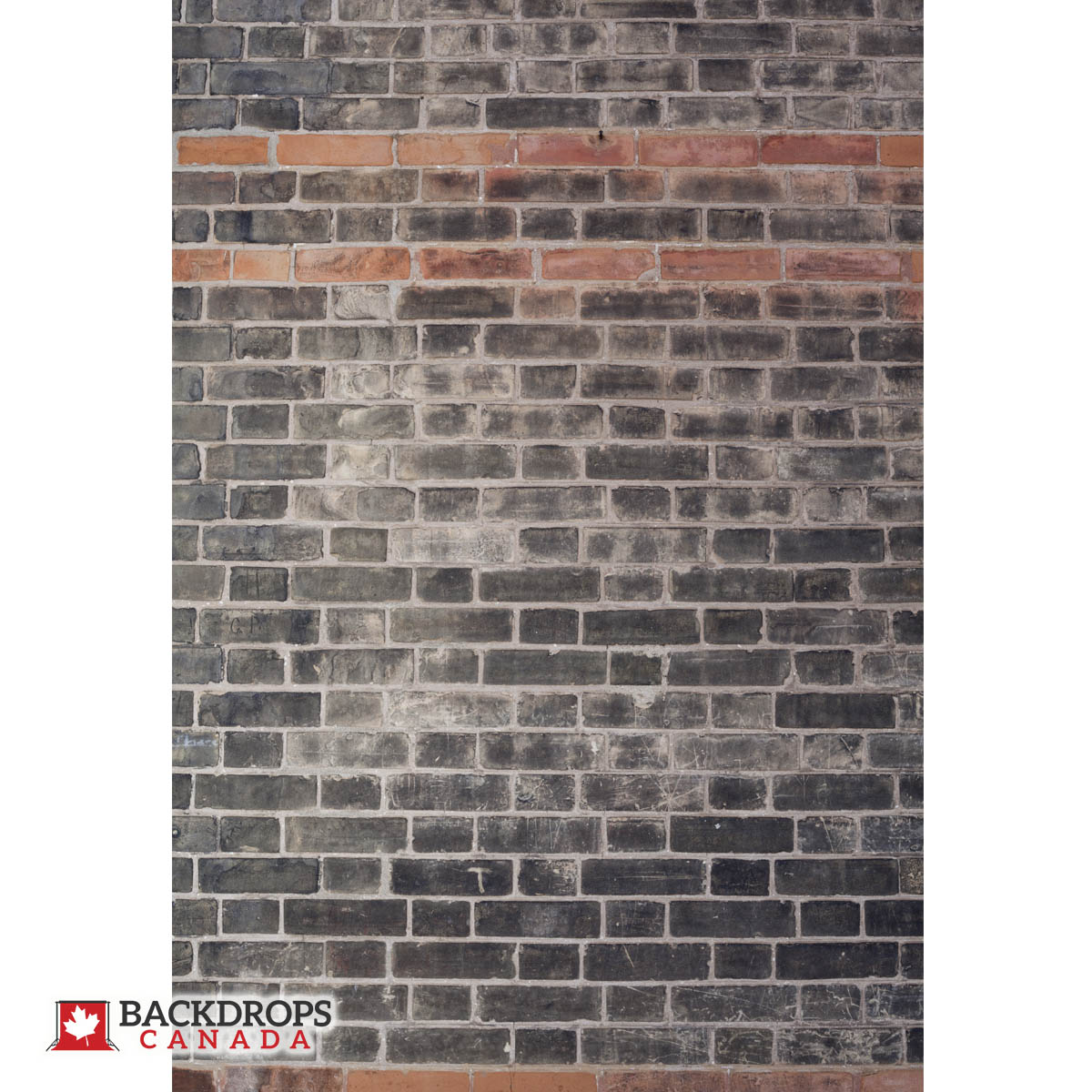 Black Brick with Orange Photography Backdrop