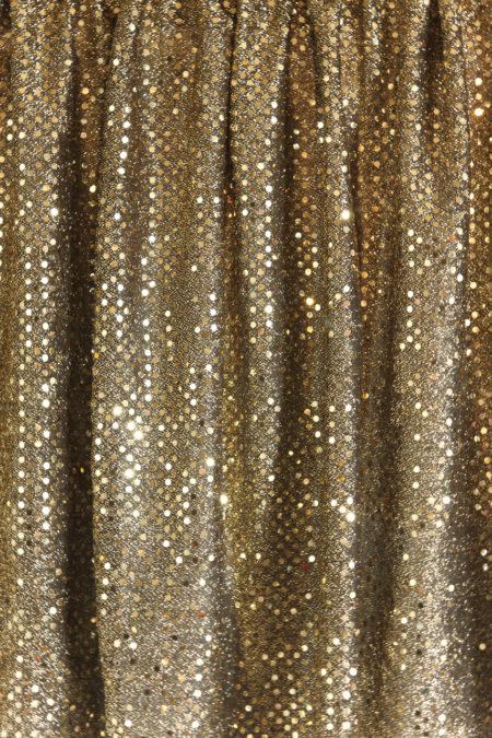 Festive Sequins Gold 2