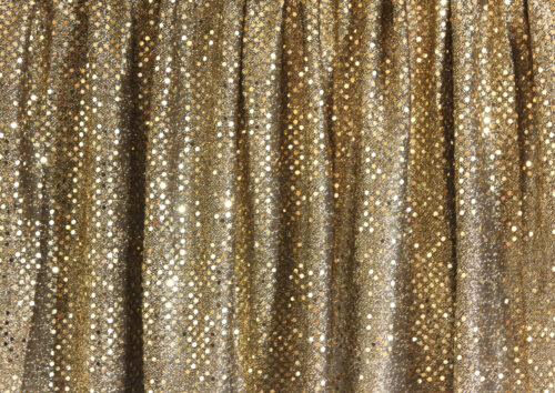Festive Sequins Gold