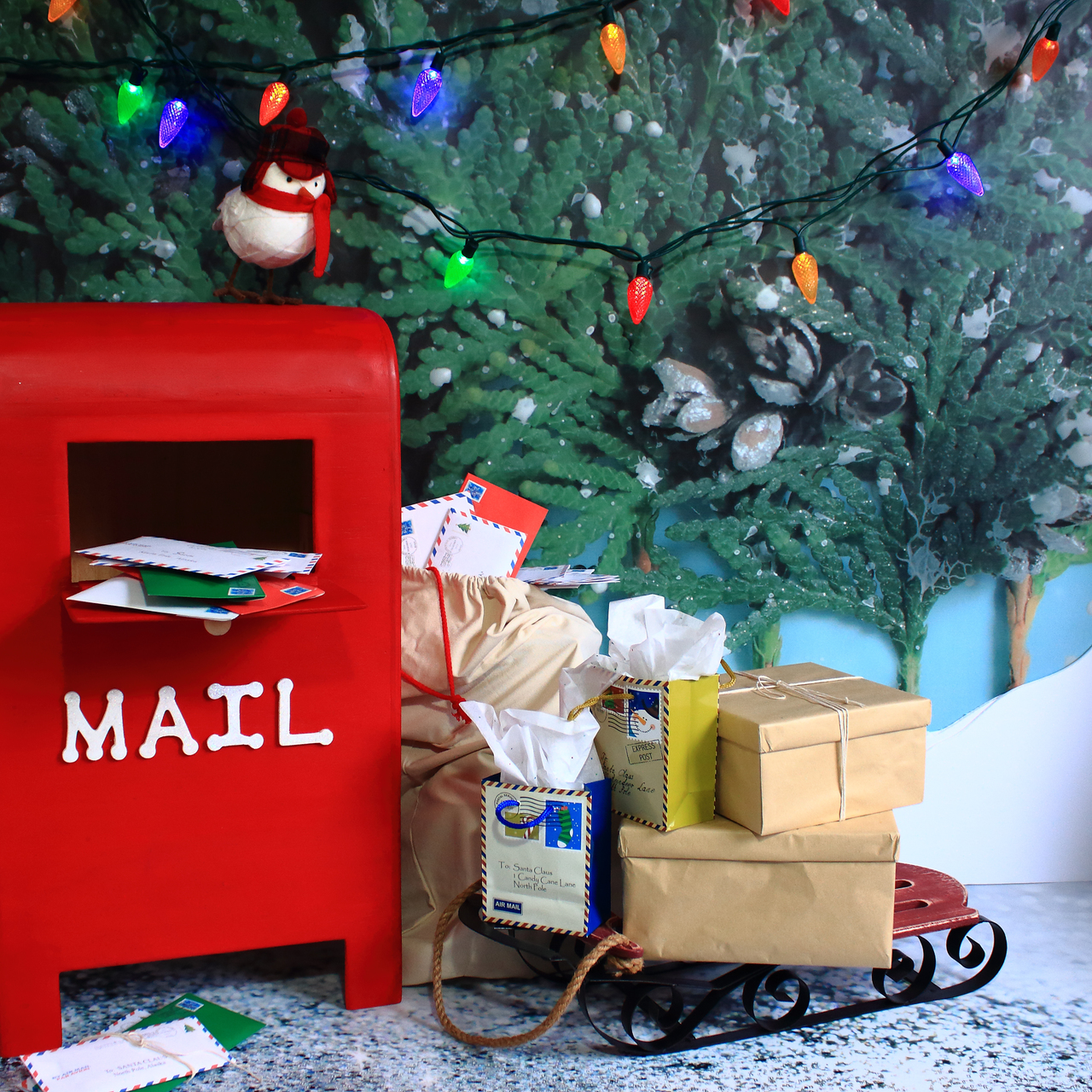 Santa letters mailbox 2 backdrops canada santa letters mailbox 2 spiritdancerdesigns Gallery