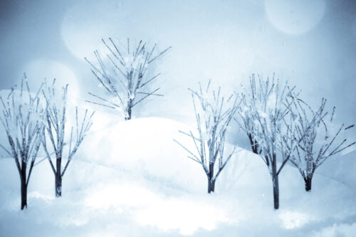 Glitter Trees 2