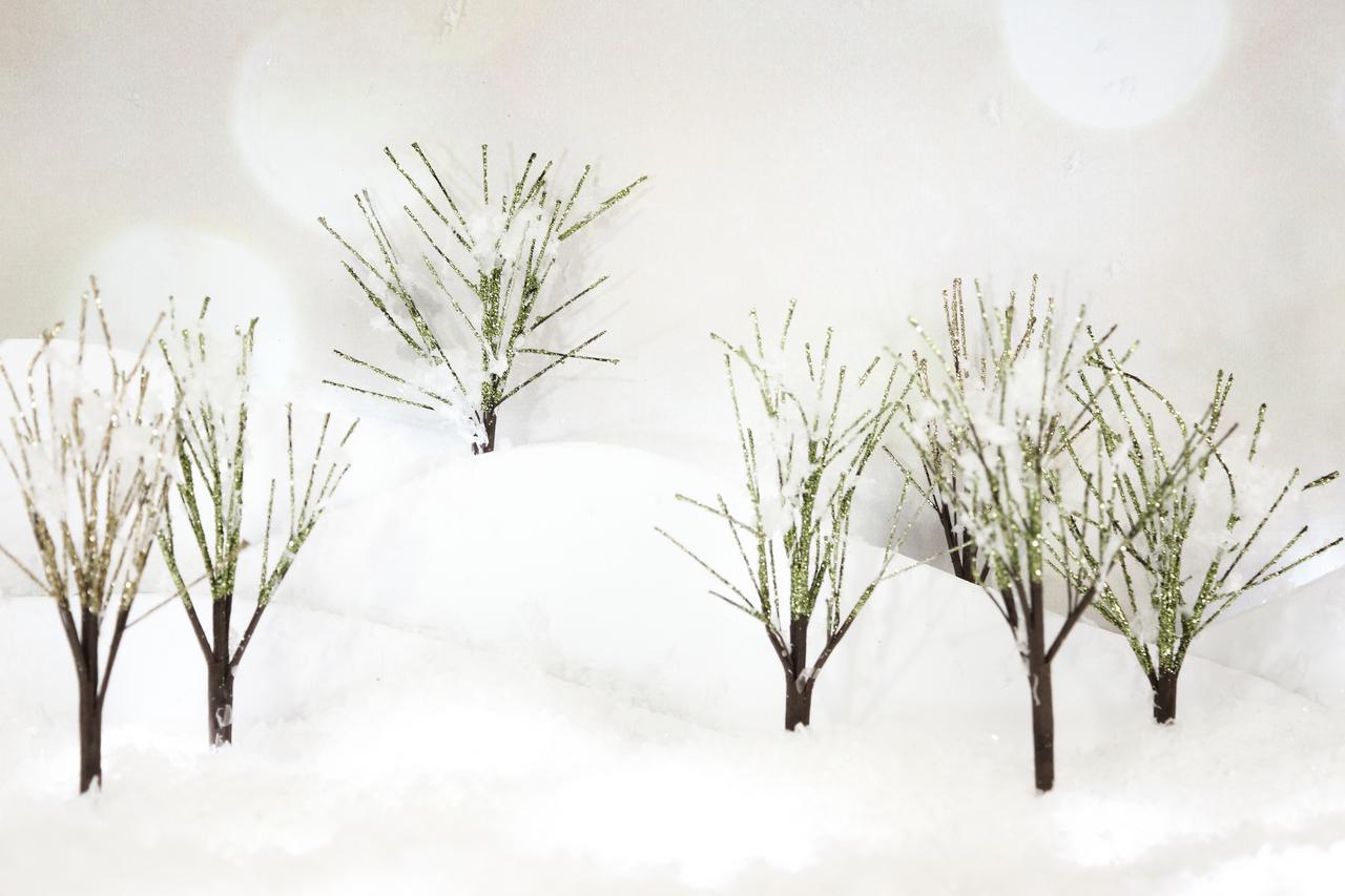 Glitter Trees 3