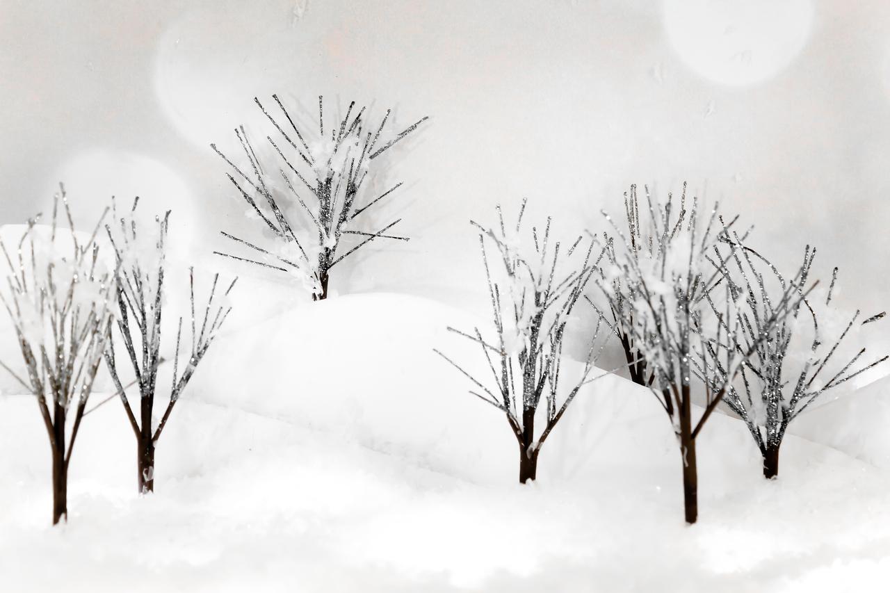 Glitter Trees 4