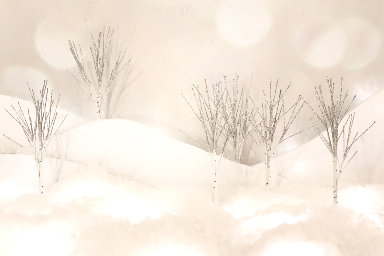 Glitter Trees 5