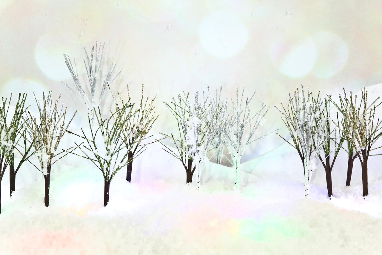 Glitter Trees 8
