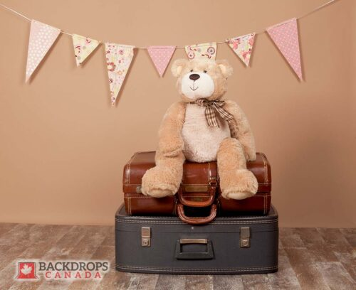 Teddybear Adventure Photography Backdrop
