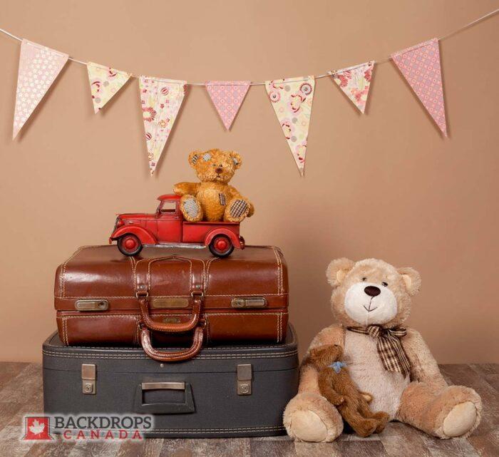 Teddybear Photography Backdrop