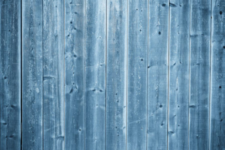 Blue Wood Floordrop