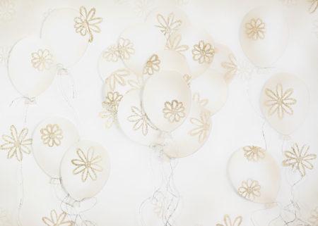 3D Gold Balloons