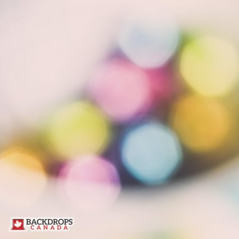 Easter Egg Bokeh Photography Backdrop