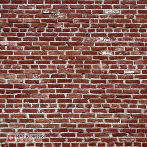 Red Brick Wall Photography Backdrop