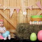 Double Gate Honey backdrop used in Easter mini session