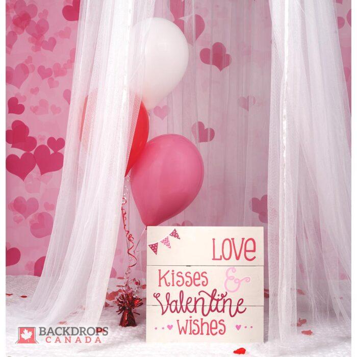 Valentine's Day Photography Backdrop