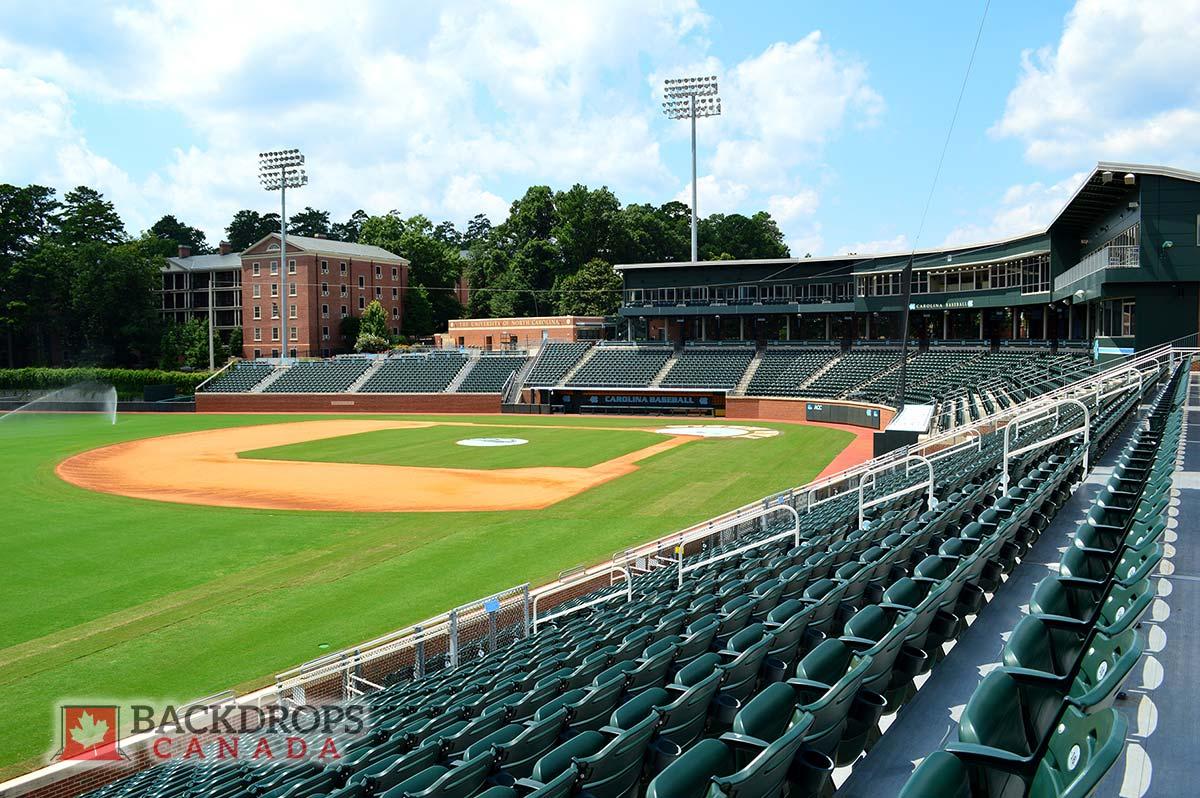 Baseball Stadium Photography Backdrop